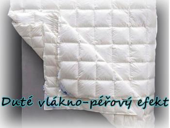 Kvalitní přikrývky a polštáře z dutého vlákna - PÉŘOVÝ EFEKT - NEOSTEP